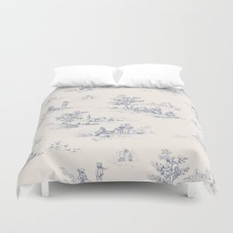 Animal Jouy Duvet Cover