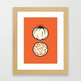 Heirlooms: Brandywine Tomato Framed Art Print
