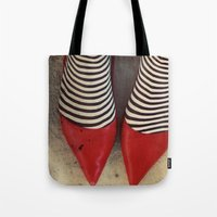 dorothy Tote Bags featuring Dorothy by elle moss