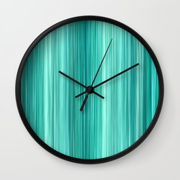 Ambient 5 Teal Wall Clock