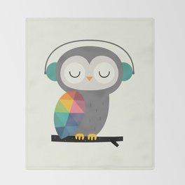 Owl Time Throw Blanket