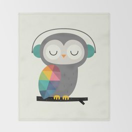 Owl Time Throw Blanket