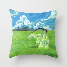 August - Indication of rain - Throw Pillow