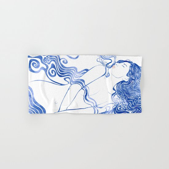 Water Nymph LXVII Hand & Bath Towel