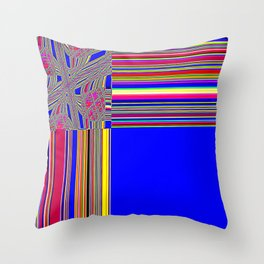 Re-Created Southern Cross XIII by Robert S. Lee Throw Pillow
