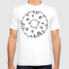 Doughnut Time White Mens Fitted Tee SMALL