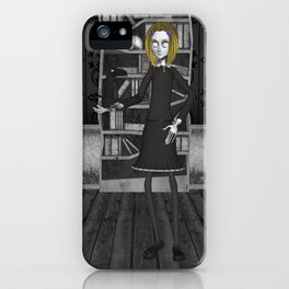 Lenore And The Raven Nevermore iPhone Case