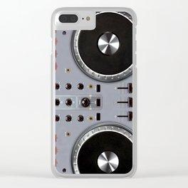Dj Set Clear iPhone Case