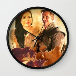 Outlaw Queen Wall Clock