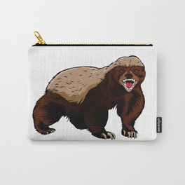Honey badger illustration Carry-All Pouch