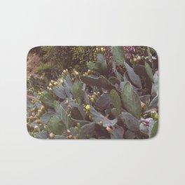 Hillside Prickly Pear Blooms Bath Mat