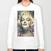 marilyn Long Sleeve T-shirts featuring MARILYN by Vonis