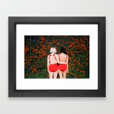 Art Print by Ophelie Rondeau - #ophelieandthegirls | September 2015 Framed Art Print