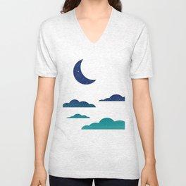 Starry Clouds Unisex V-Neck