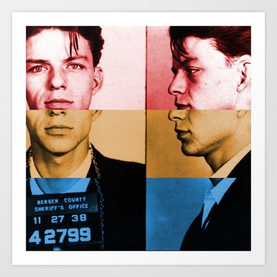 Classic Frank Sinatra  Art Print