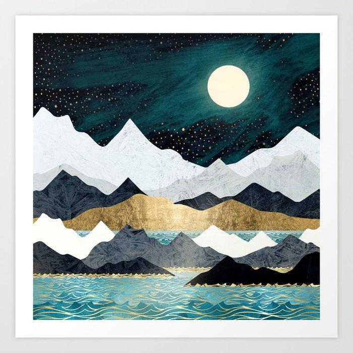 Ocean Stars Kunstdrucke