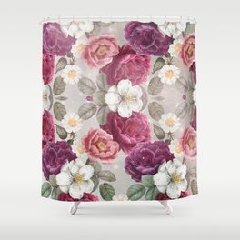 Cosmic Flowers I Shower Curtain