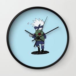 Kakashi Wall Clock