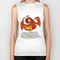 narnia Biker Tanks featuring TO NARNIA by Crystalwhisker