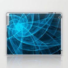 Tulles Star Computer Art in Blue Laptop & iPad Skin