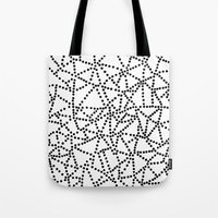dots Tote Bags featuring Dots by Project M