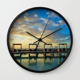 Cabana Art Wall Clock