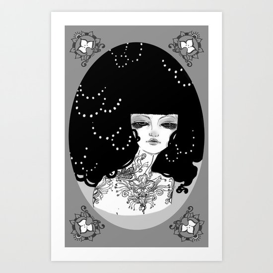 WHITEOUT - 'Oh So Melochromatic' Art Print