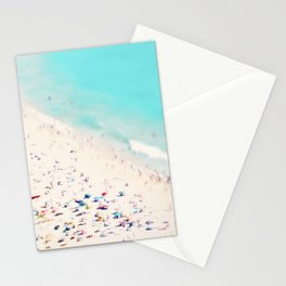 beach love III square Stationery Cards