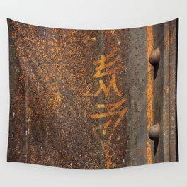 Raw Steel Wall Tapestry