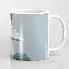 Cloud and woman Coffee Mug