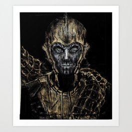 From the Ghoul Closet - Imperator Art Print