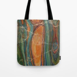 Lively Synapses (Amplified Current) Tote Bag