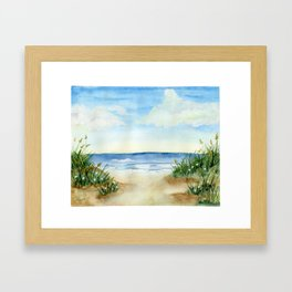 Pismo Beach, CA Framed Art Print