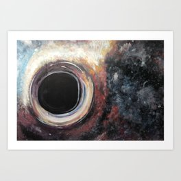 Wormhole not Worm hole Art Print