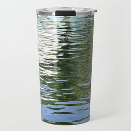 Colorful Reflections Abstract Travel Mug