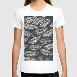 Black & White Leaves T-shirt