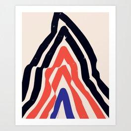 Fantastic Mountain Art Print