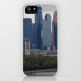 Moscow Highrises iPhone Case