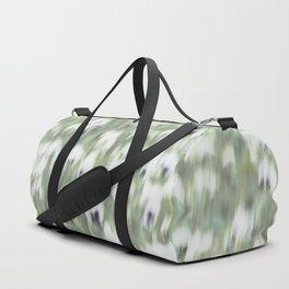 Pansy Field Floral Pattern II Duffle Bag