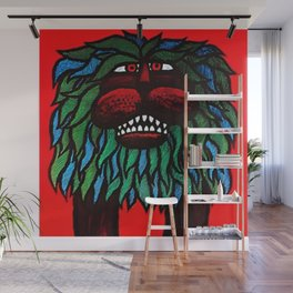 Rare Grouchy Lion Cyrk Trade Print Advertising Poster Wall Mural