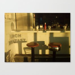 lunch breakfast Canvas Print