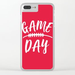 Game Day Clear iPhone Case