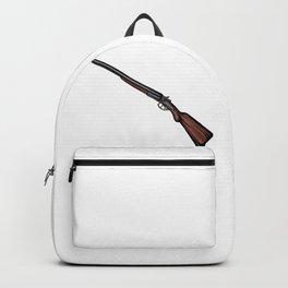 Shotgun Illustration Backpack