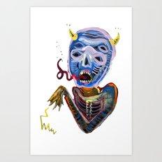 demoniooOOoOOoOooo #1 Art Print