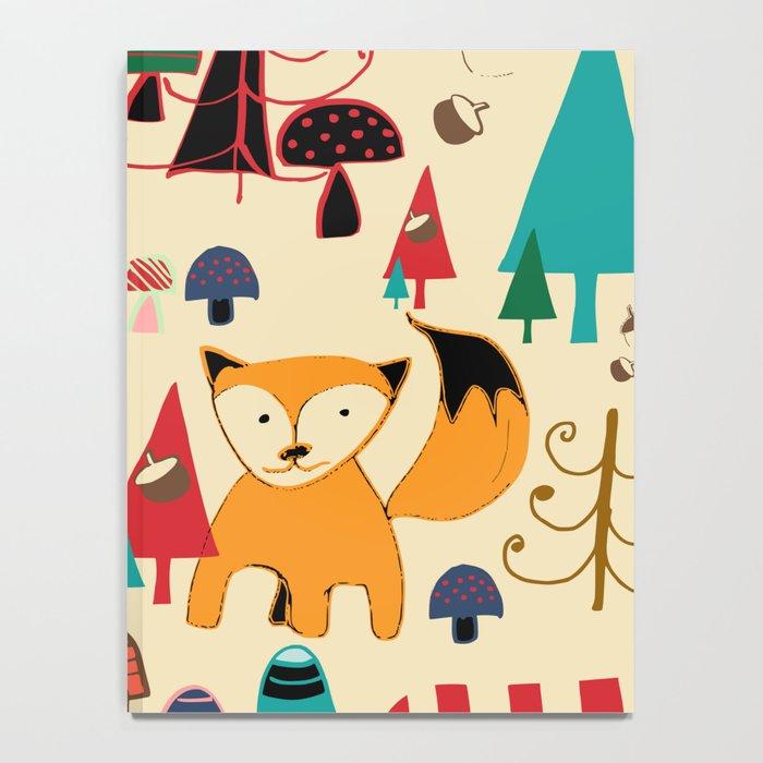 woodland fox Notebook