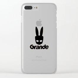 Ariana Grandea Clear iPhone Case
