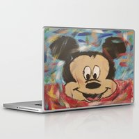 mickey Laptop & iPad Skins featuring Mickey by Jason L Cohen Fine Art