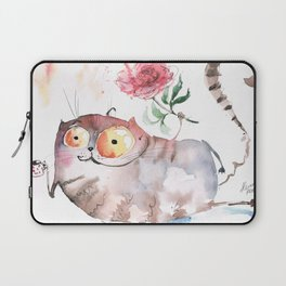 Saturday caturday Laptop Sleeve