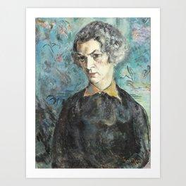 Eemu Myntti (1890-1943) Eva Bremer-Myntti, Art Print
