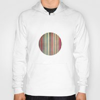 stripes Hoodies featuring Stripes by thinschi